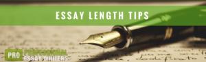 add length to an essay