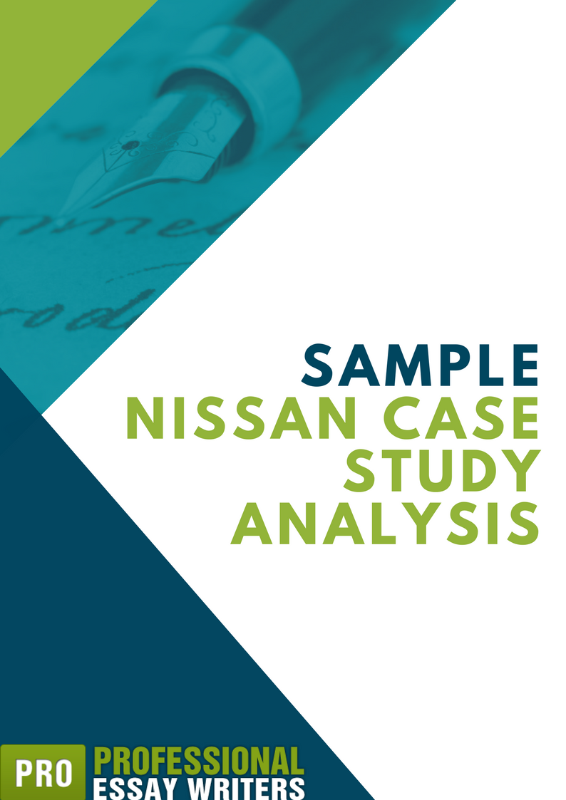nissan case study analysis sample